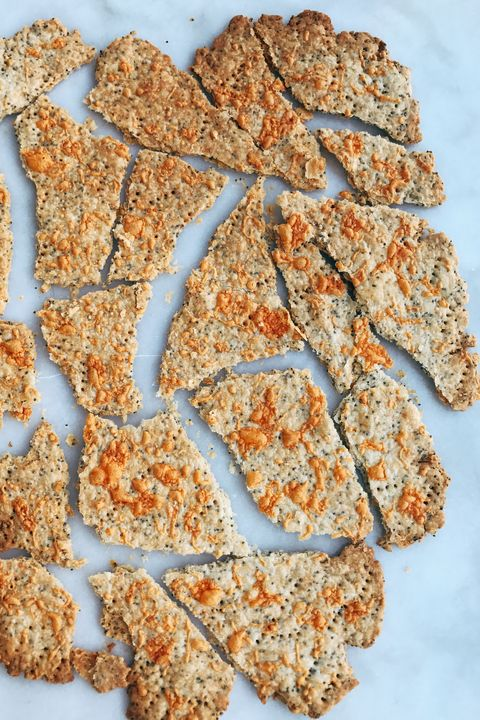 Cheesy Poppy Seed Crackers