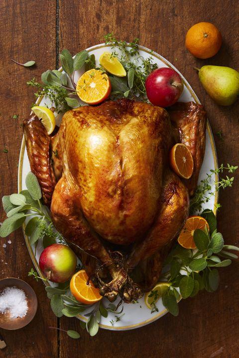golden herb roasted turkey