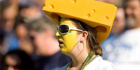 Yellow, Eyewear, Glasses, Headgear, Carnival, Hat, Personal protective equipment, Street fashion, Smile, Sunglasses,