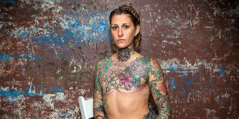 Mom With Metastatic Breast Cancer Gives Free Areolae Tattoos to Women With Mastectomies