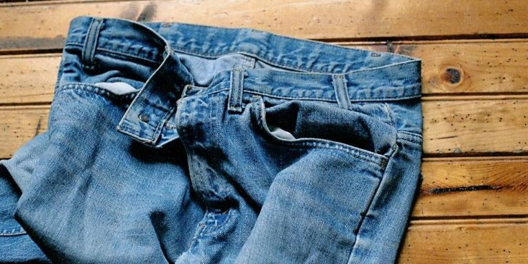 how to clean jeans without washing