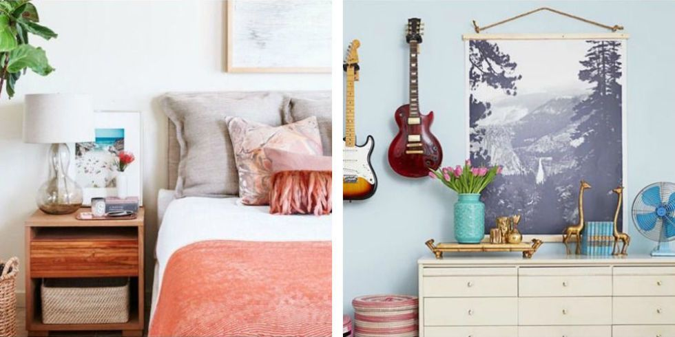 26 cheap bedroom makeover ideas diy master bedroom decor on a budget rh goodhousekeeping com diy interior design ideas bedroom Bedroom Design for Baby
