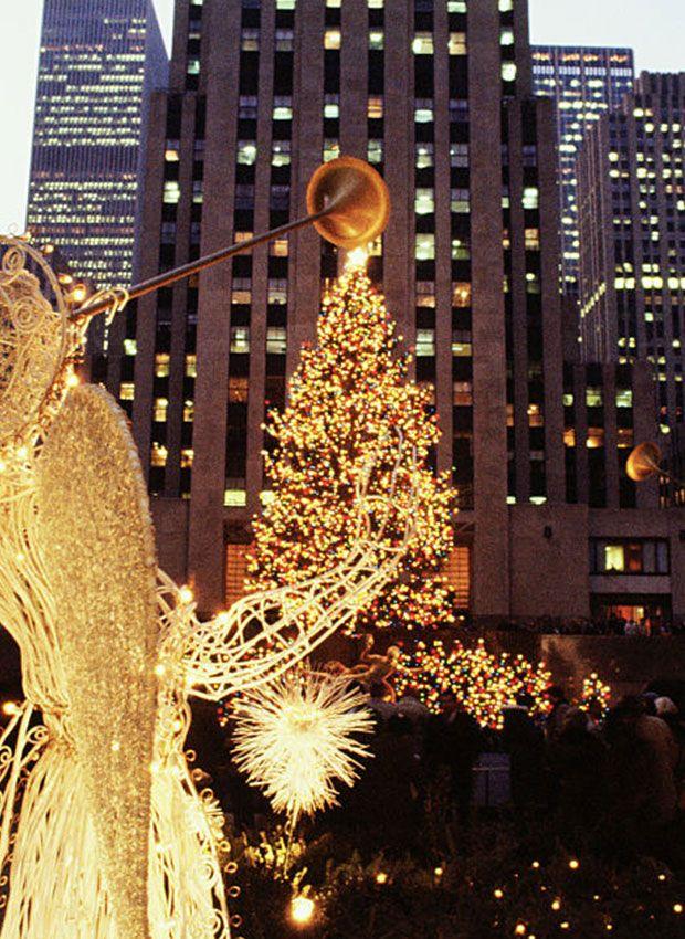 Rockefeller Center Christmas Tree.Rockefeller Center Christmas Tree Photos Through The Years