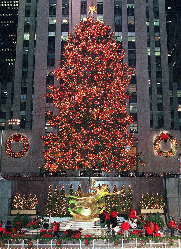 Rockefeller Center Christmas Tree Photos Through the Years - Rock Center  Tree Tradition - Rockefeller Center Christmas Tree Photos Through The Years - Rock