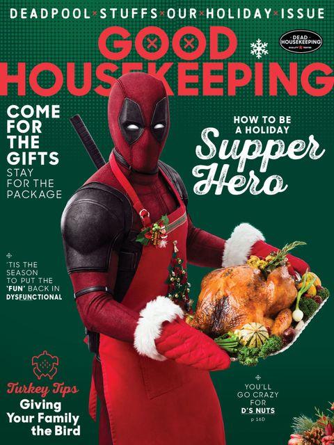 Deadpool Guest Edits Good Housekeeping