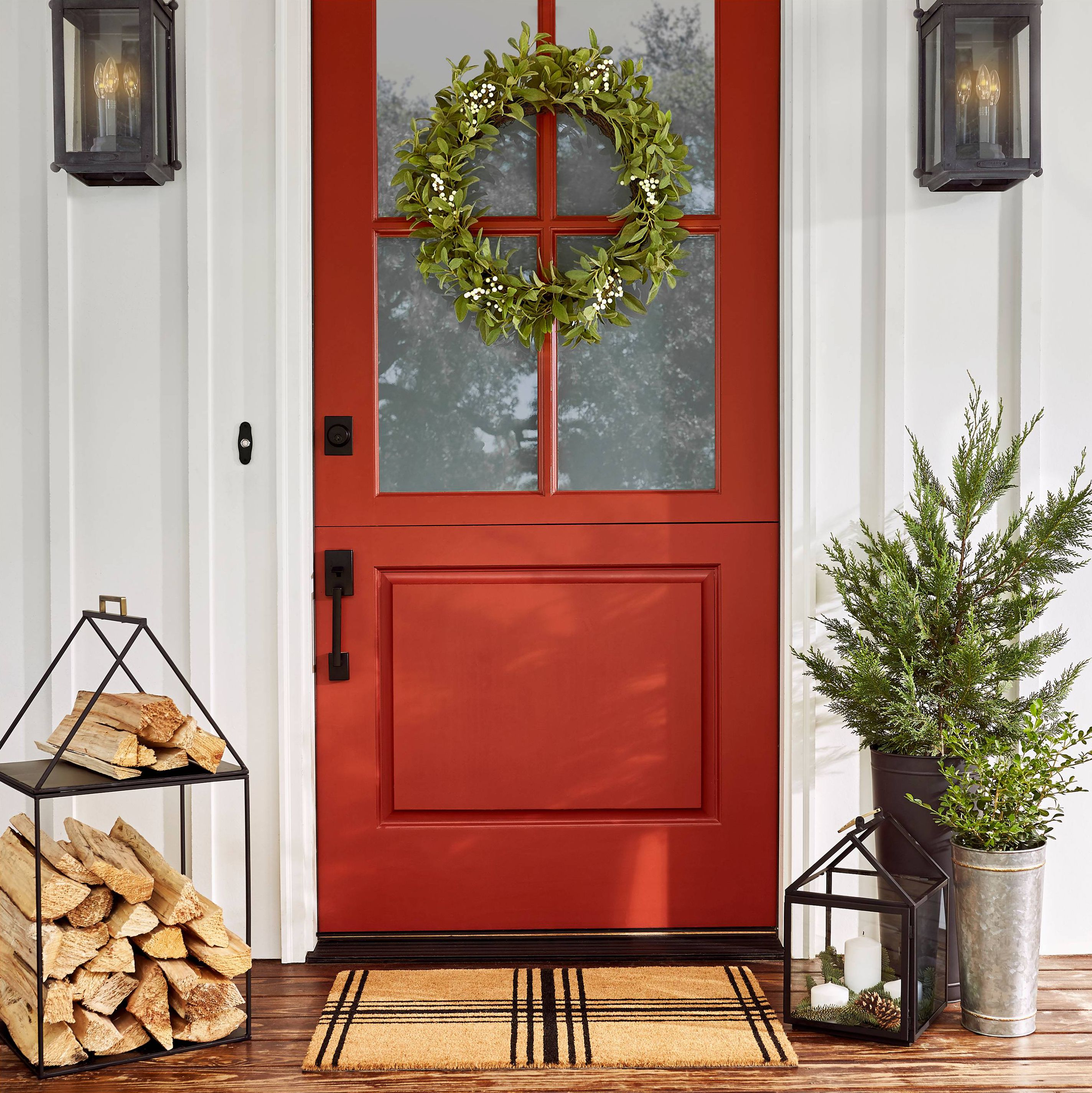 35 Christmas Door Decorating Ideas - Best Decorations for Your Front Door & 35 Christmas Door Decorating Ideas - Best Decorations for Your Front ...