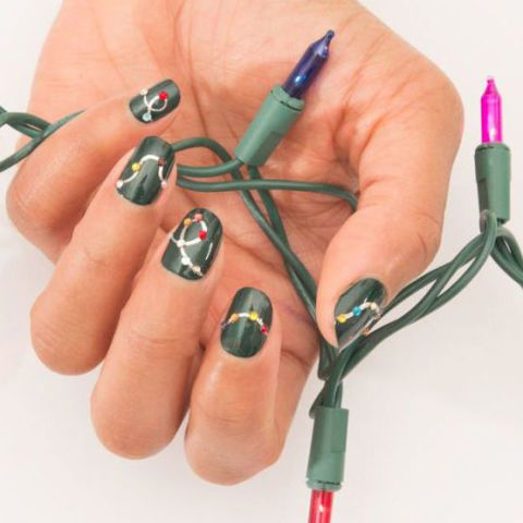 40 Festive Christmas Nail Art Ideas - Easy Designs for Holiday Nails