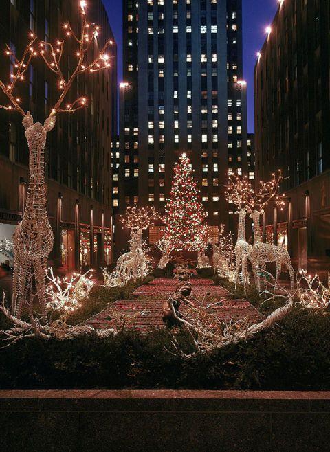 Lighting Of Rockefeller Christmas Tree.Rockefeller Center Christmas Tree Photos Through The Years