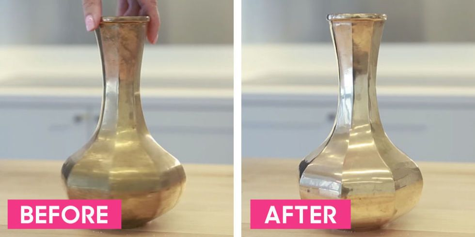 How To Clean And Polish Brass Homemade Cleaner For