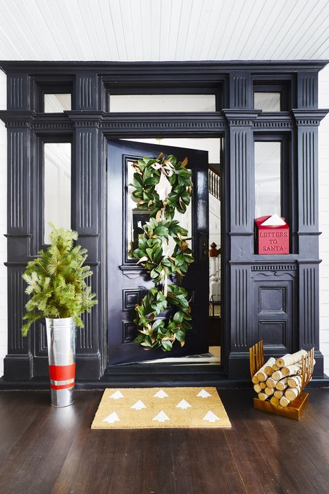 Doormat Christmas Decoration Ideas