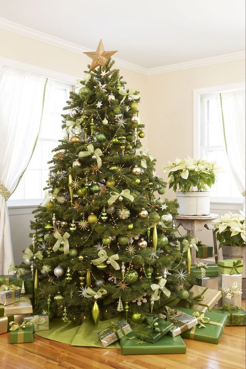 green christmas tree - Green Christmas Tree Decorations