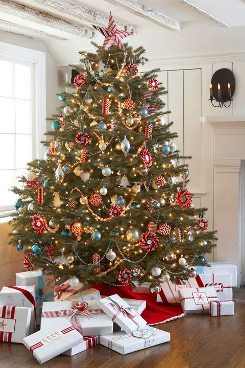 Pleasing 30 Decorated Christmas Tree Ideas Pictures Of Christmas Download Free Architecture Designs Rallybritishbridgeorg