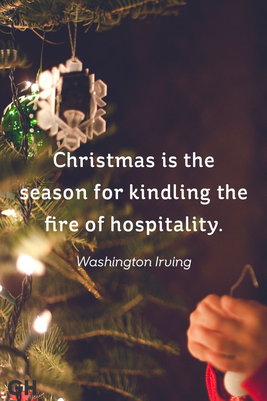 washington irving christmas quote