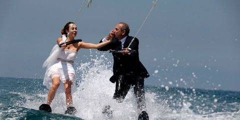 Fun, Surface water sports, Waterskiing, Wakeboarding, Towed water sport, Kitesurfing, Water, Recreation, Boardsport, Water sport,
