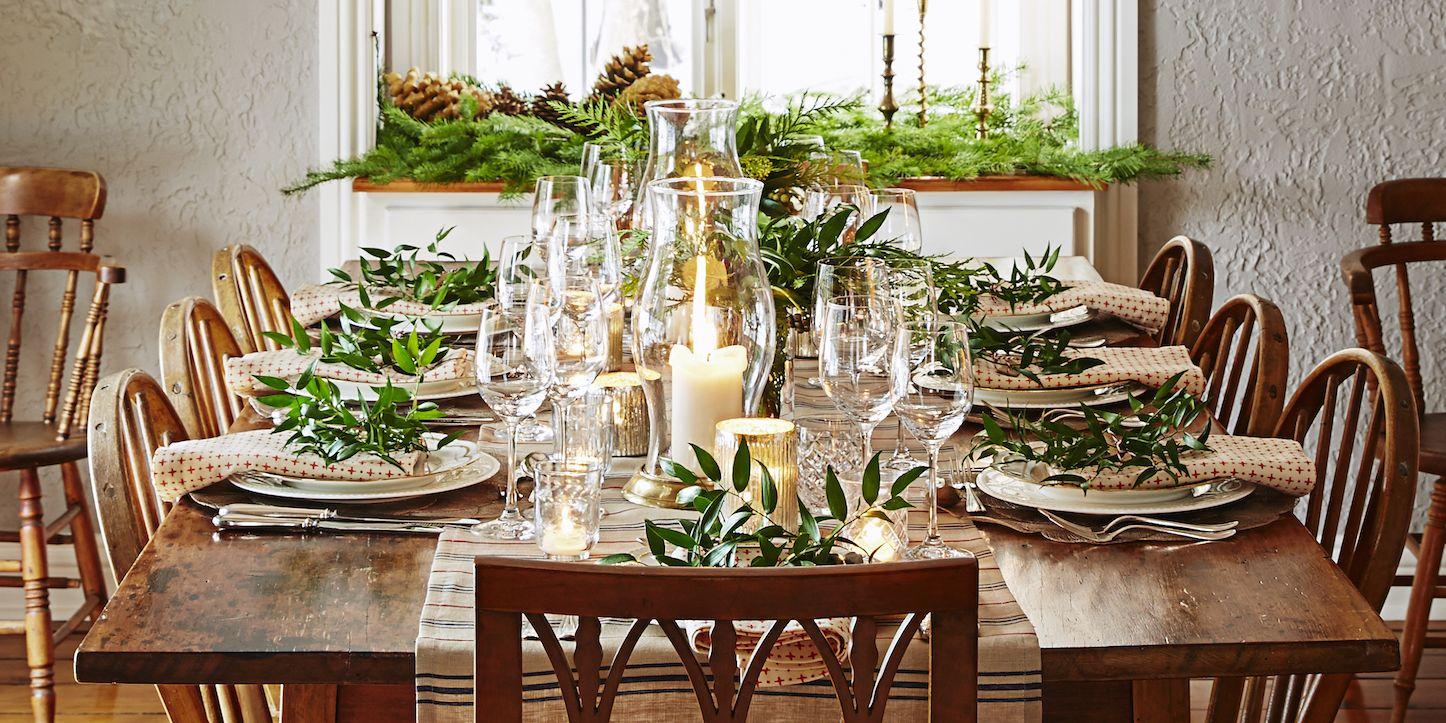 Christmas Dinner Table Ideas