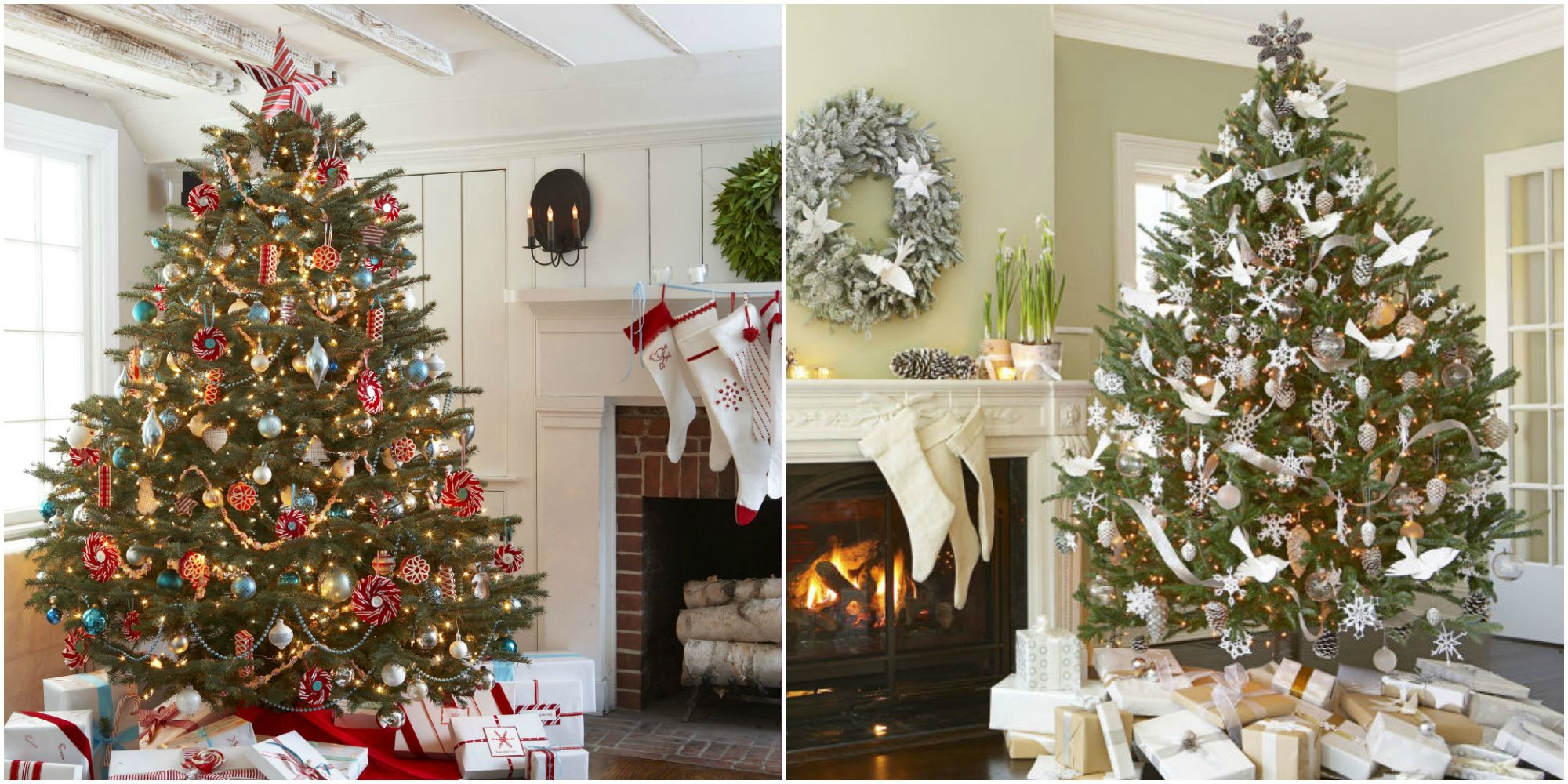 christmas trees decor decorated best