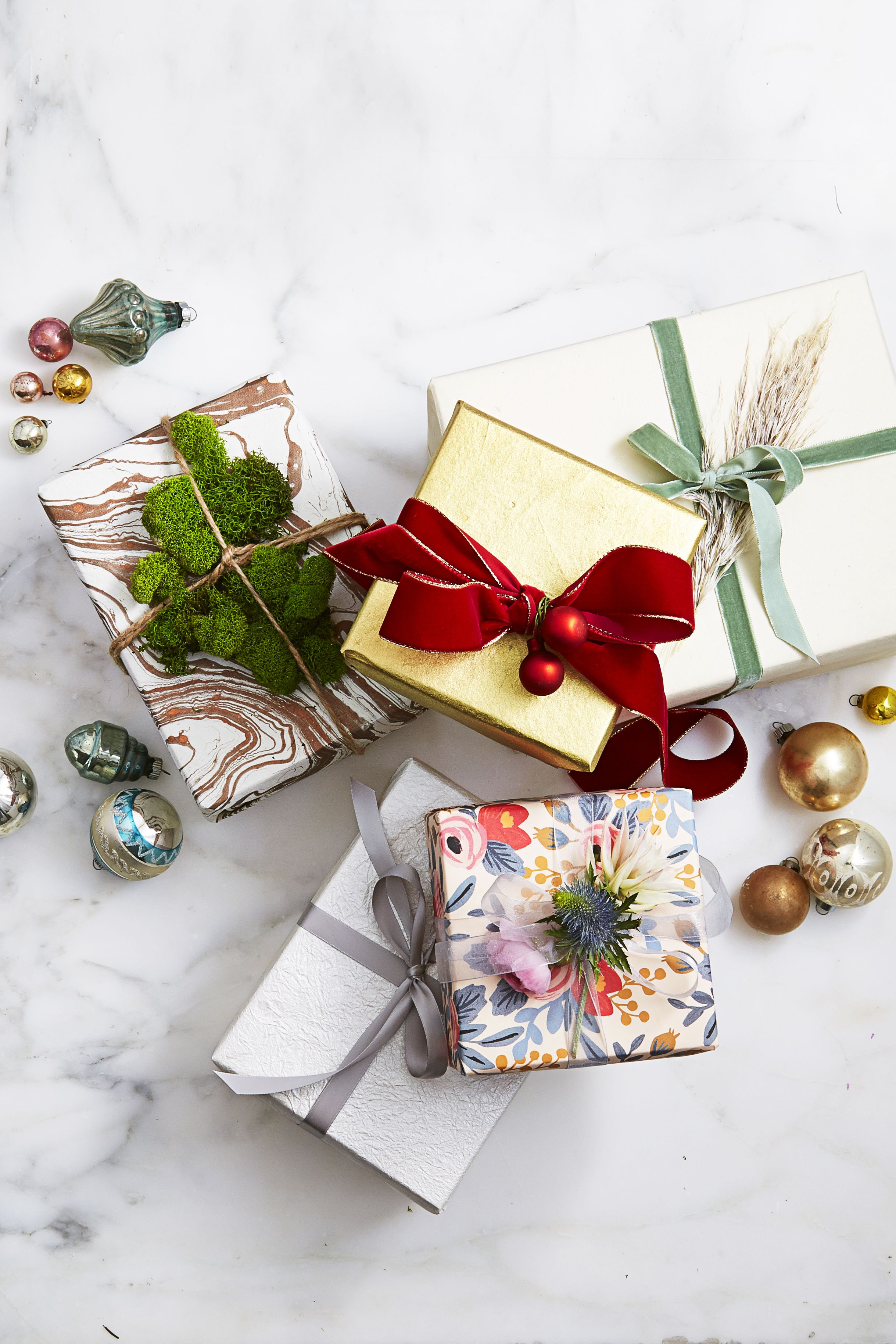 Christmas ribbon ideas for gifts