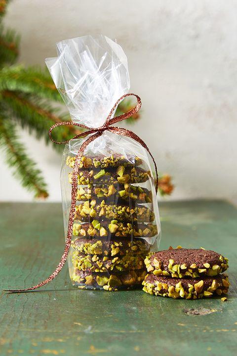 Chocolate Nut Slice and Bake Cookies - Christmas Cookies