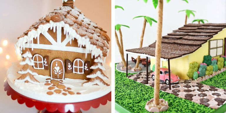 56 Amazing Gingerbread Houses - Pictures of Gingerbread House Design on church cakes, church family house, church snow, church autumn, church candy, church cupcakes, church country gingerbread recipe,