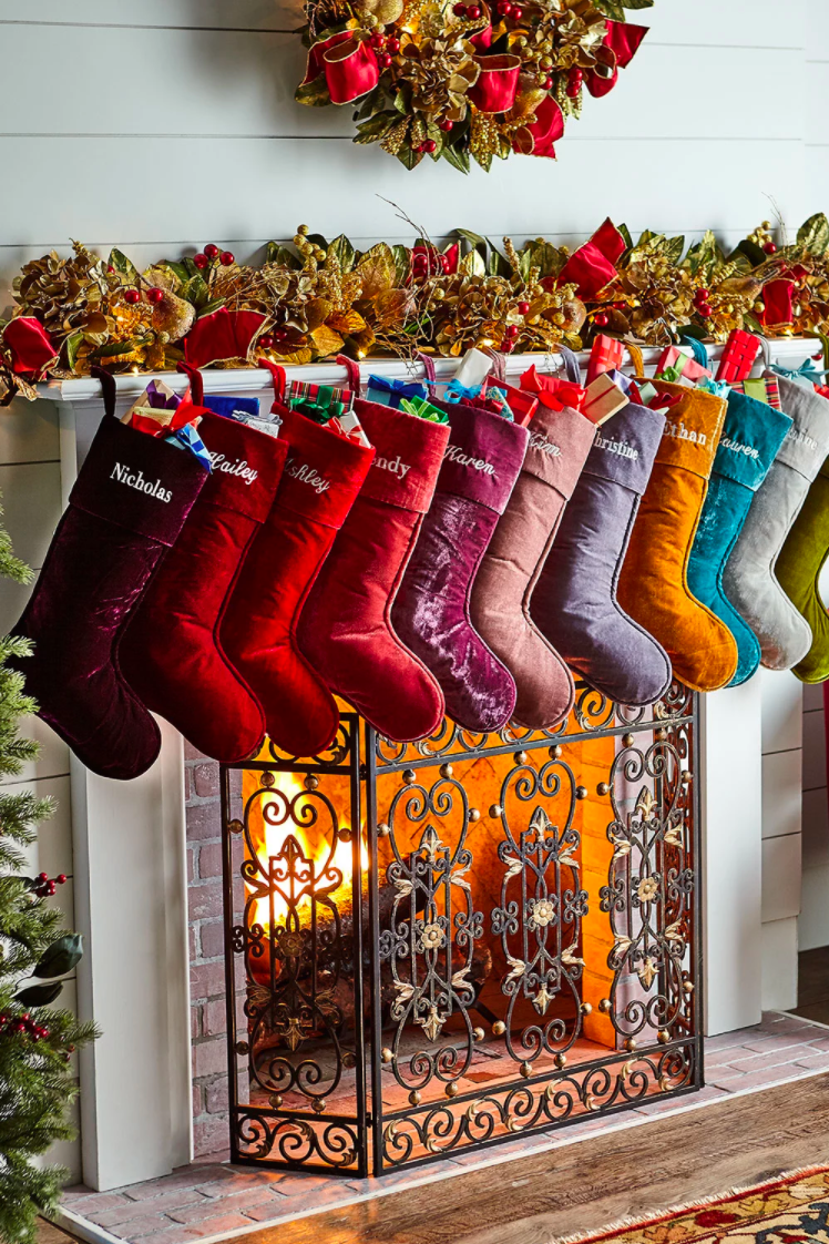 3475794cc97 20 Personalized Christmas Stockings - Embroidered and Monogrammed Stockings  to Buy
