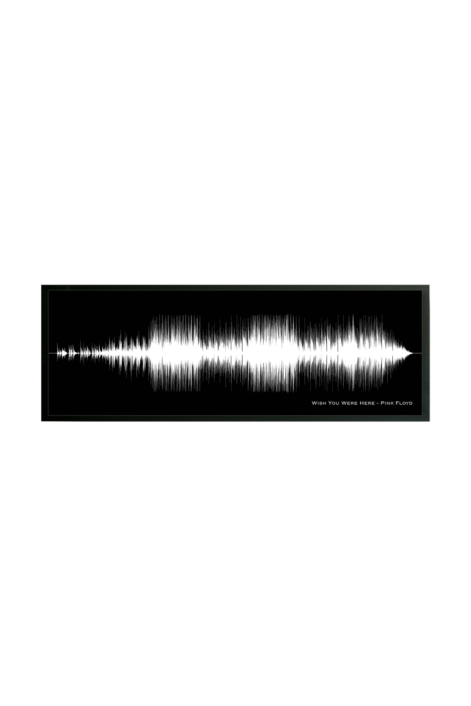 Gifts for Music Lovers - Custom Song Sound Wave Art Print