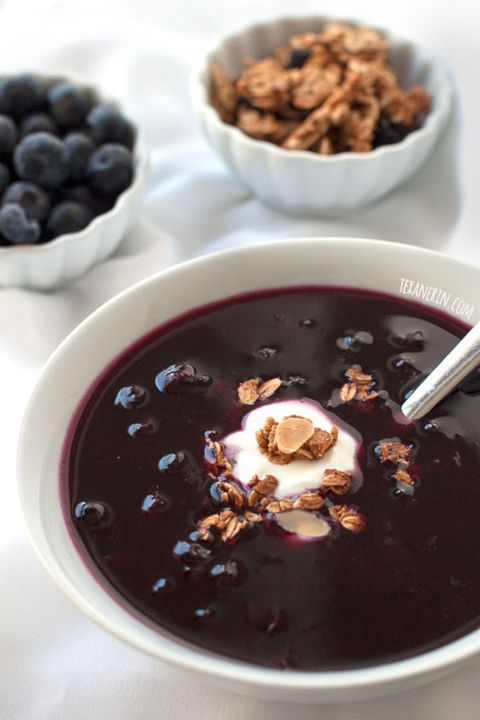 "<p>A popular dish in Sweden, this warming soup is a favorite among cold weather athletes. </p><p><a href=""http://www.texanerin.com/healthier-swedish-blueberry-soup/"" target=""_blank"" data-tracking-id=""recirc-text-link""><em data-redactor-tag=""em"" data-verified=""redactor"">Get the recipe from Texan Erin »</em></a></p>"