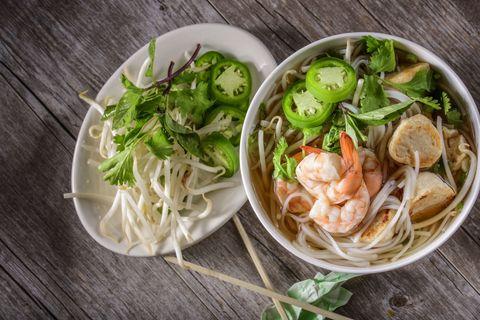 Seafood pho calories