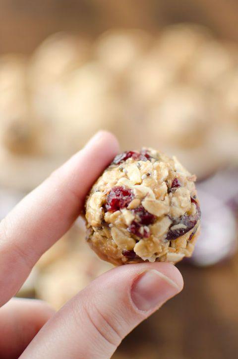cranberry almond bites