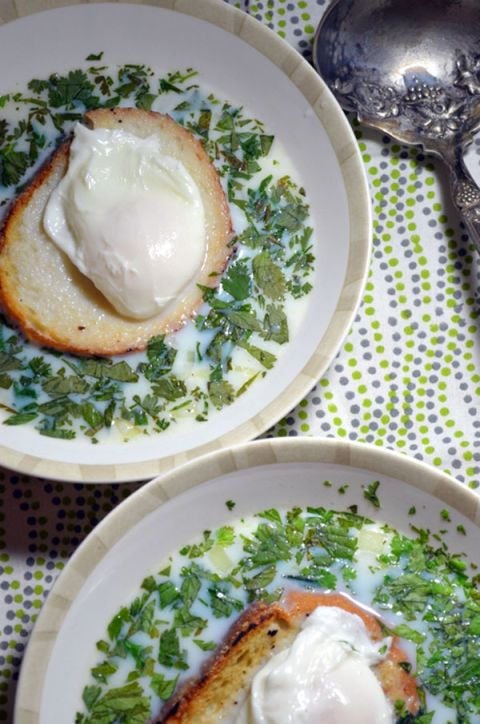 "<p>Though you might not have heard of it, this popular Colombian breakfast soup made with egg and cilantro is a must-try. </p><p><a href=""https://sercocinera.wordpress.com/2013/06/23/changua-egg-and-cilantro-soup/"" target=""_blank"" data-tracking-id=""recirc-text-link""><em data-redactor-tag=""em"" data-verified=""redactor"">Get the recipe from Sercocinera »</em></a></p>"