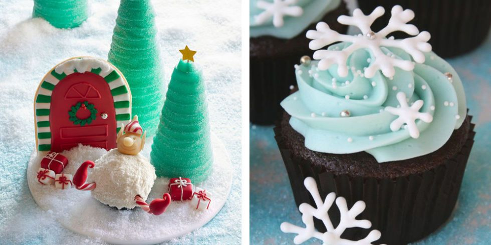 image. Everyone has a favorite Christmas cookie but Christmas cupcakes ... & 28 Adorable Cupcakes to Bake for Christmas - Recipes for Christmas ...