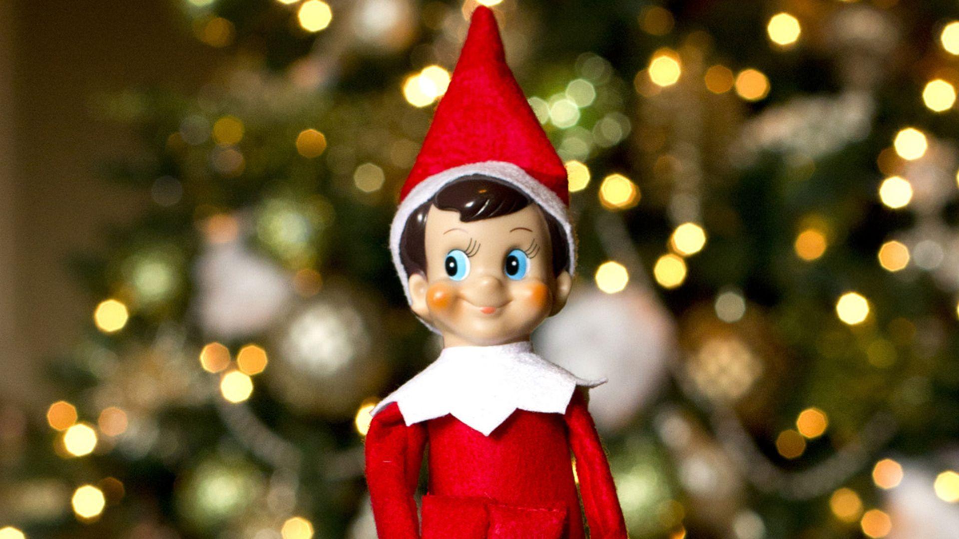 Attractive Elf On The Shelf