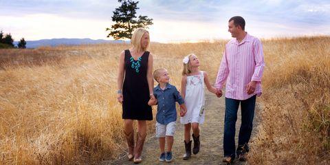 chenoa and family