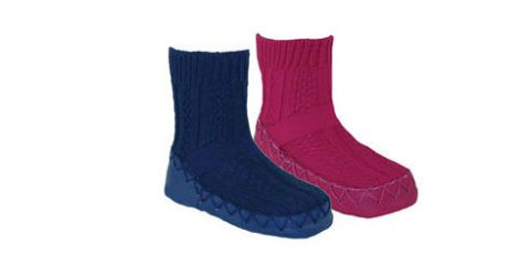 92b6e8f5175da Nowali Cable Knit Moccasin Women's Slippers Review