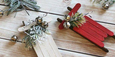 image & 52 Homemade Christmas Ornaments - DIY Handmade Holiday Tree Ornament ...