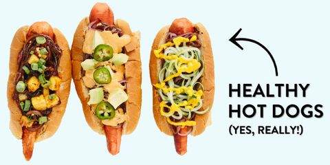 Healthy Hot Dog