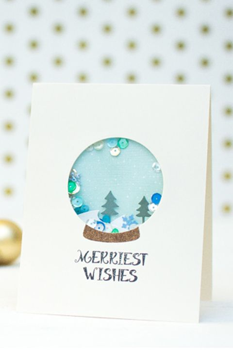 39 Diy Christmas Cards Homemade Christmas Card Ideas 2019