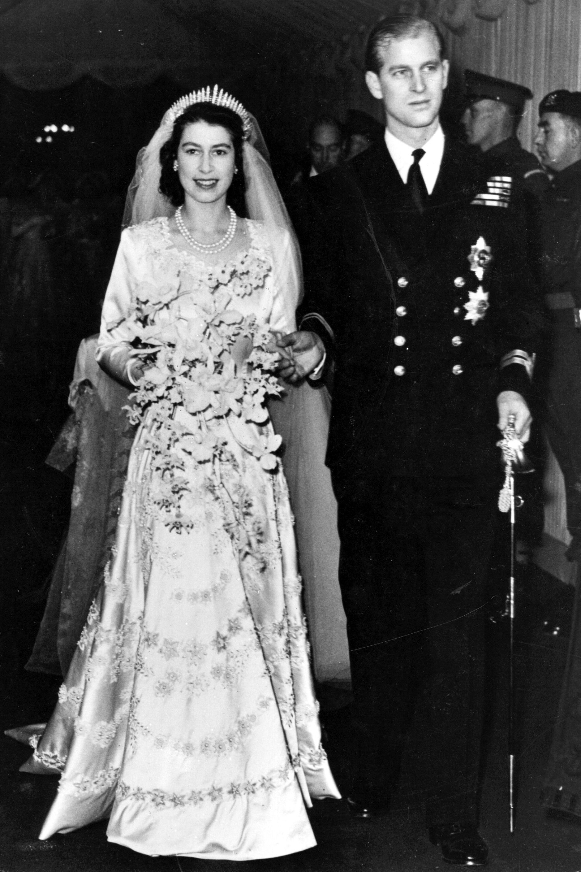 10 hidden details you didn t know about queen elizabeth s wedding dress queen elizabeth ii s bridal gown queen elizabeth ii s bridal gown