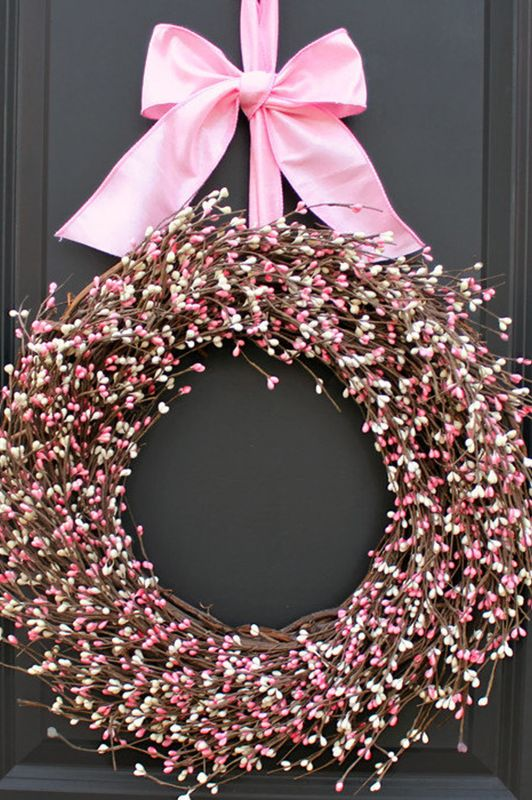 30 Diy Valentine S Day Wreaths Homemade Door Decorations For