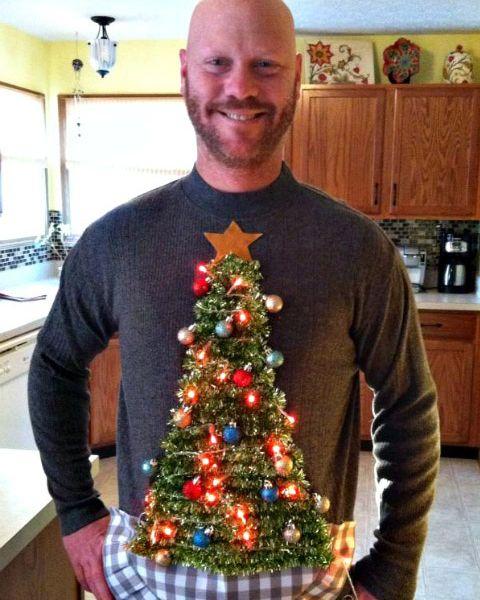 Diy Christmas Tree Sweater: 31 Ugly Christmas Sweaters To Buy Or DIY