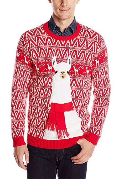 Ugly Llama Christmas Sweater