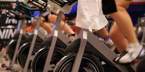 Stationary Bike Hand and Body Positions - Proper Form for