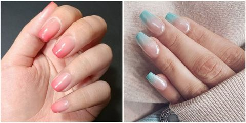 fc9e5777f4 14 Best Ombre Nail Design Ideas - How to Do Ombre Nails