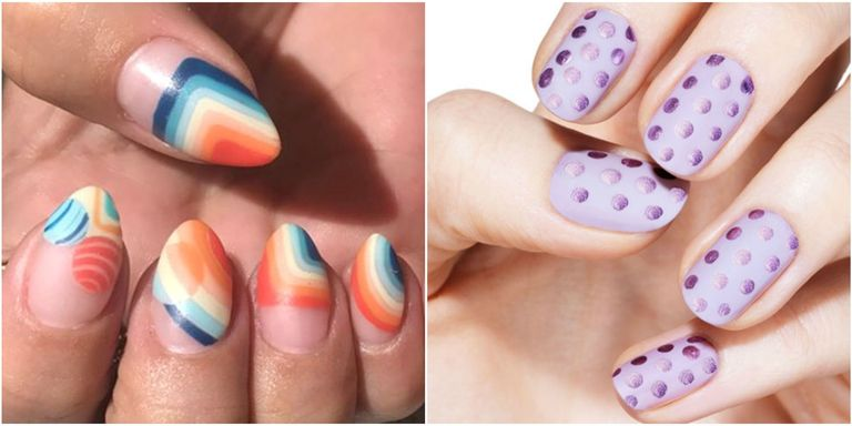 Virtually every nail polish brand offers a matte top coat to let you  transform your favorite glossy colors. Check out these shine-free manis and  choose the ... - 13 Cool Matte Nail Design Ideas - Unique Matte Nail Polish Art