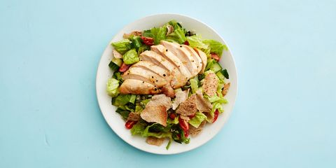 Dish, Food, Cuisine, Salad, Ingredient, Produce, Caesar salad, Recipe, Cruciferous vegetables, Ham salad,