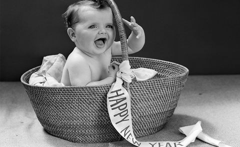 Child, Photograph, Product, Baby, Toddler, Black-and-white, Photography, Wicker, Monochrome, Basket,