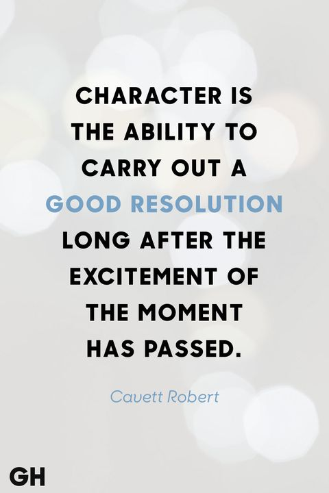 cavett robert new years quote