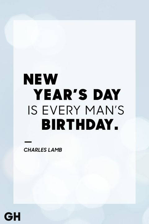charles lamb new years quote