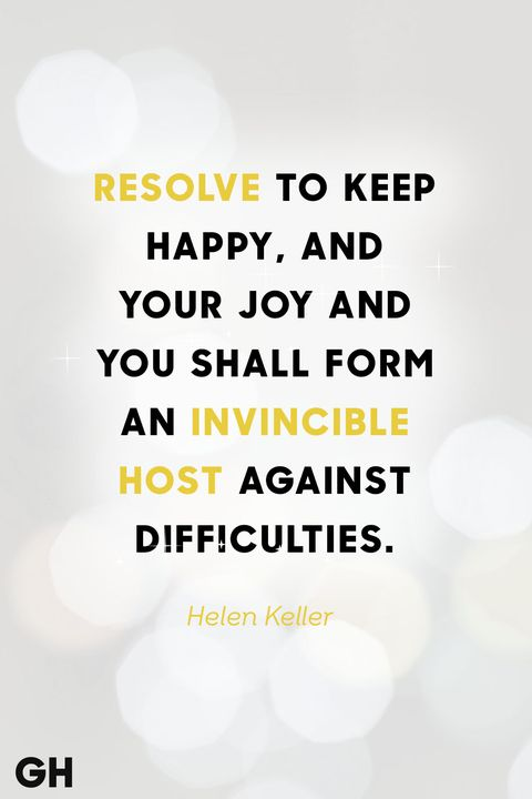 helen keller new years quote
