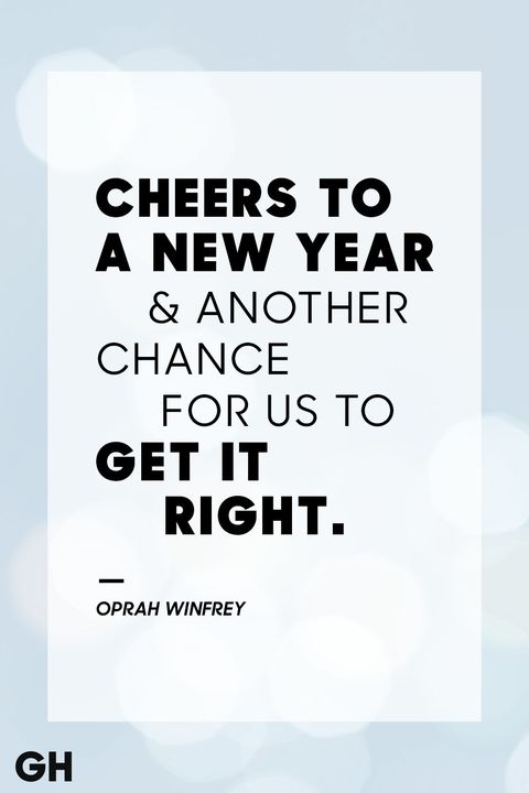 36 Best New Year\'s Eve Quotes - Inspirational Sayings for the New Year
