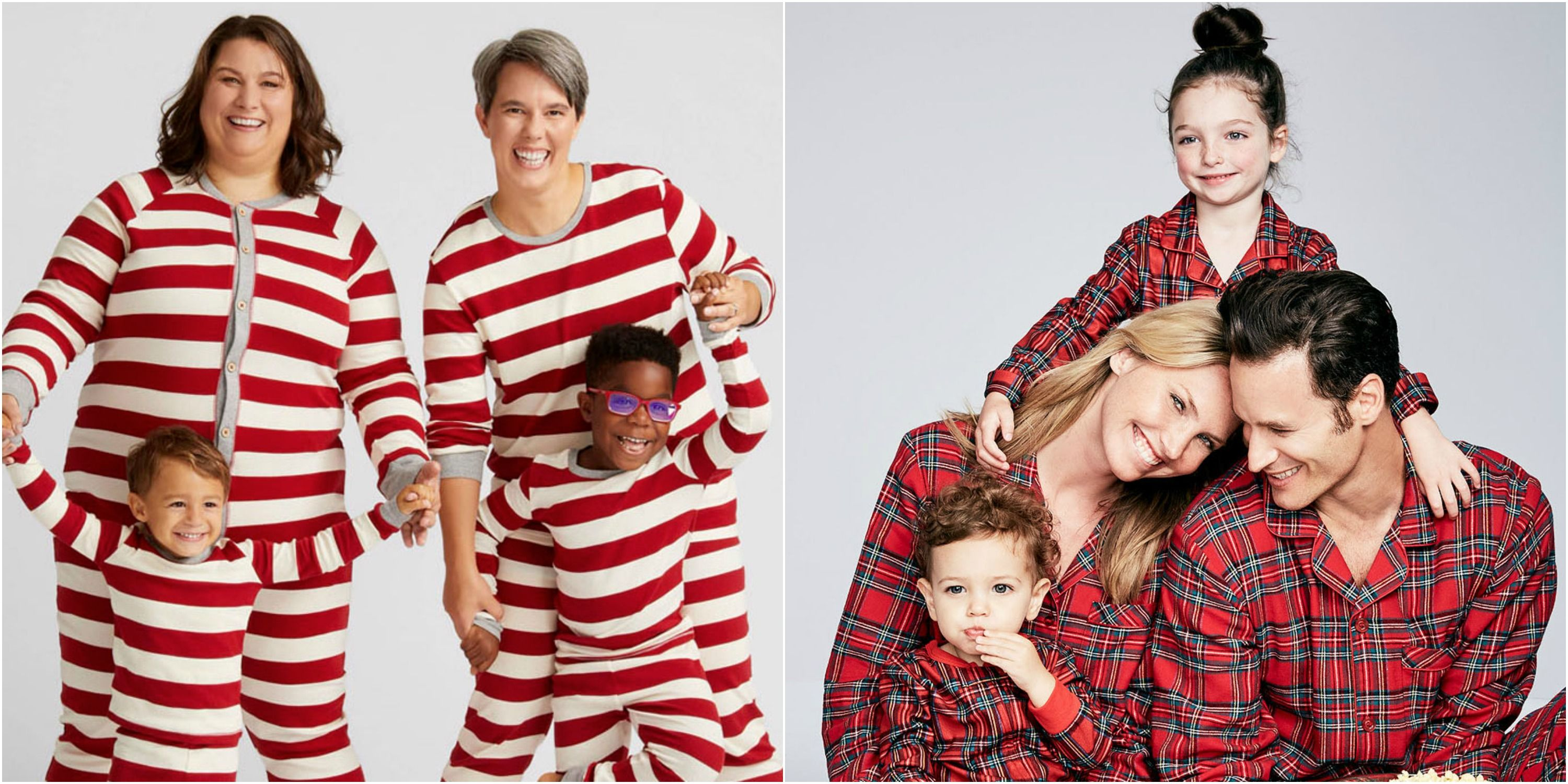 10 matching family christmas pajamas to celebrate in the coziest way possible - Family Pajamas Christmas